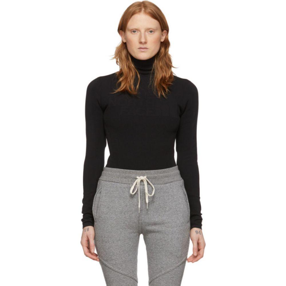 ザ ノースフェイス The North Face Black Series レディース ボディースーツ インナー・下着【Black Engineered Knit Graphic Bodysuit】Black