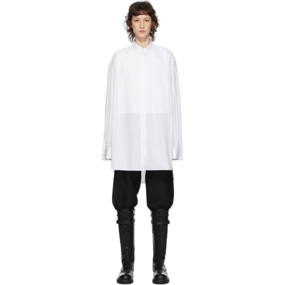 アンドゥムルメステール Ann Demeulemeester レディース ブラウス・シャツ トップス【White Olda Shirt】White