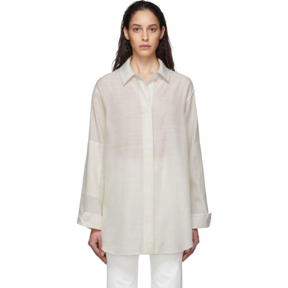 ジャックムス Jacquemus レディース ブラウス・シャツ トップス【Off-White 'La Chemise Loya' Shirt】Ecru
