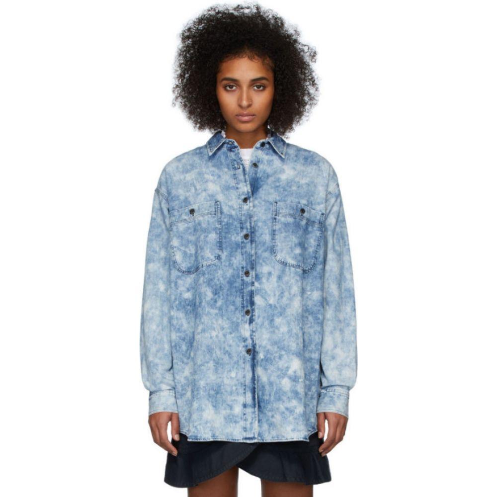 イザベル マラン Isabel Marant Etoile レディース ブラウス・シャツ デニム トップス【Blue Denim Lynton Shirt】Blue