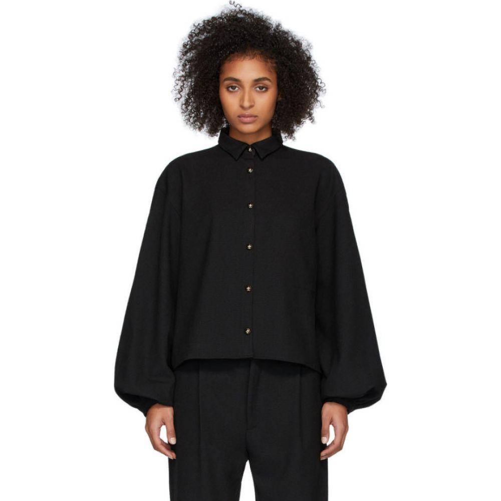 トーテム Toteme レディース ブラウス・シャツ トップス【Black Novale Shirt】Black