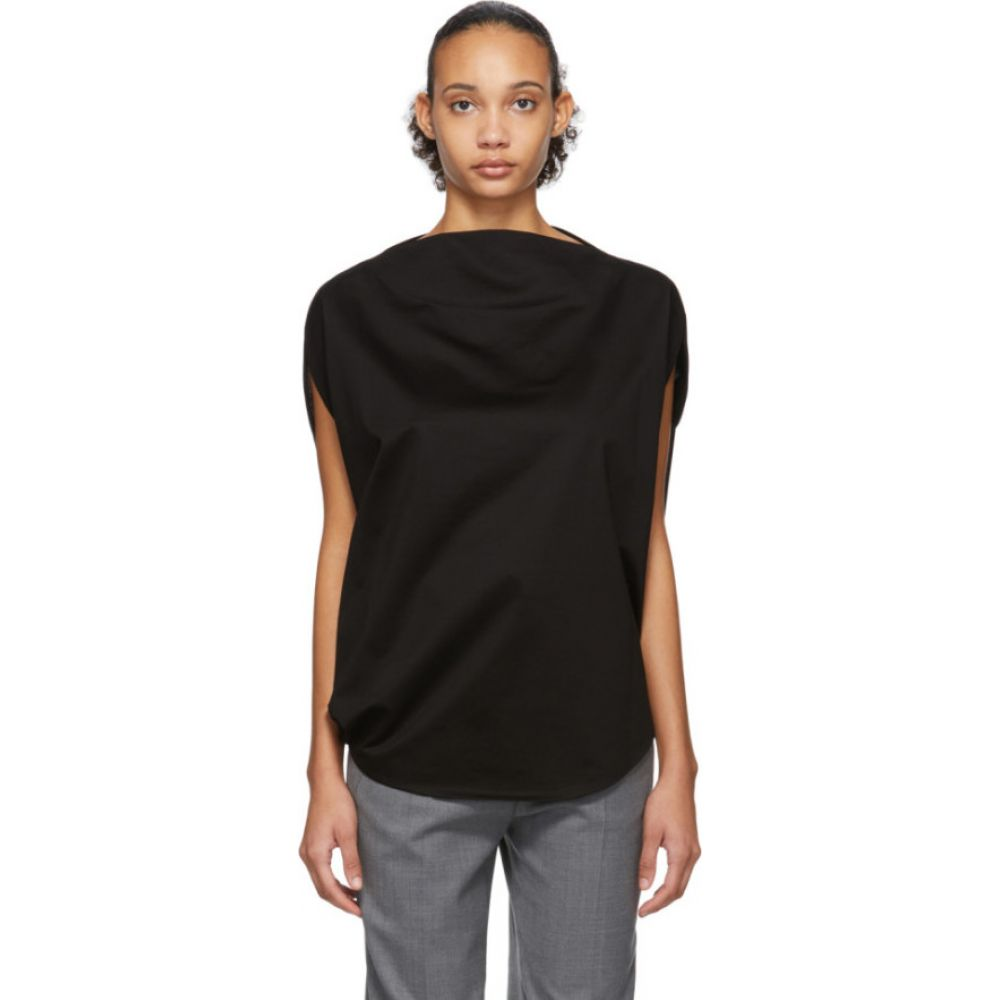 イッセイ ミヤケ Issey Miyake レディース Tシャツ トップス【Black Unique T-Shirt】Black