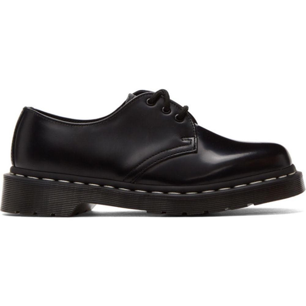 ドクターマーチン Dr. Martens レディース ローファー・オックスフォード シューズ・靴【Black 1461 Contrast Derbys】Black