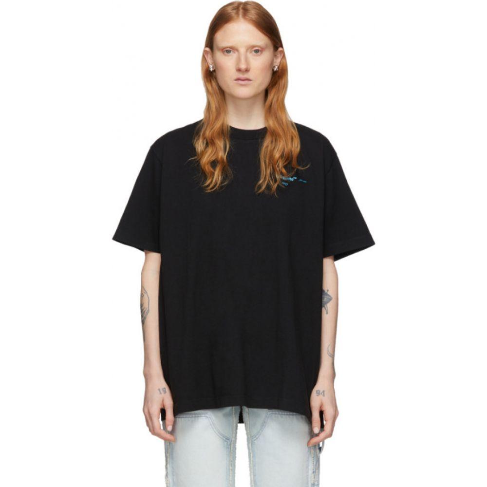 オフホワイト Off-White レディース Tシャツ トップス【Black Gradient T-Shirt】Black/Multi