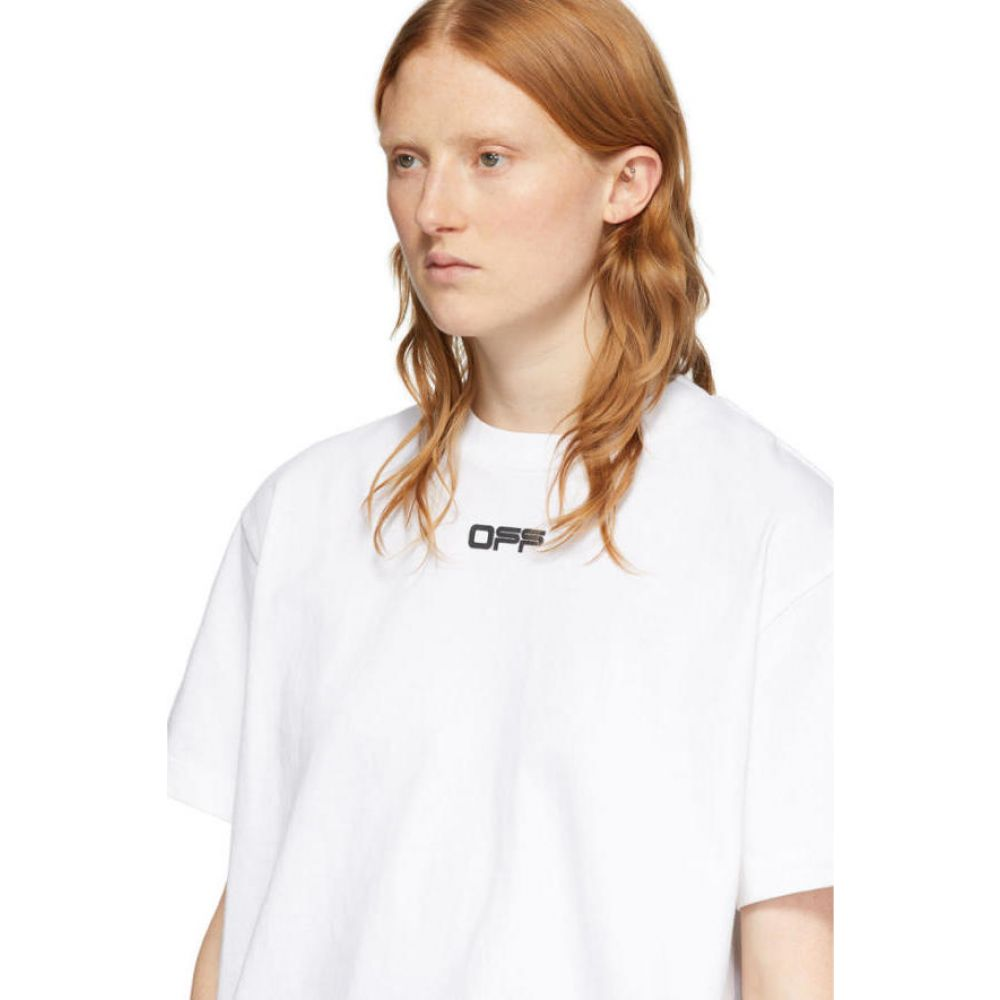 オフホワイト Off White レディース Tシャツ トップス White Airport T Shirt White MulticolorQthxrdBsCo