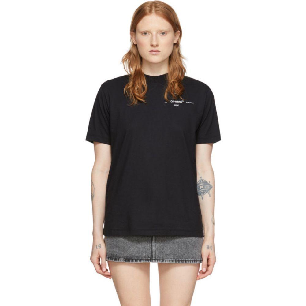 オフホワイト Off-White レディース Tシャツ トップス【Black Puzzle Arrows T-Shirt】Black