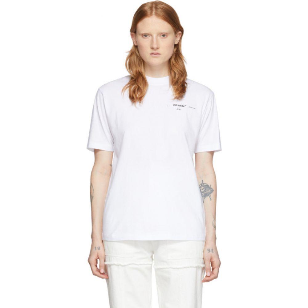 オフホワイト Off-White レディース Tシャツ トップス【White Puzzle Arrows T-Shirt】White