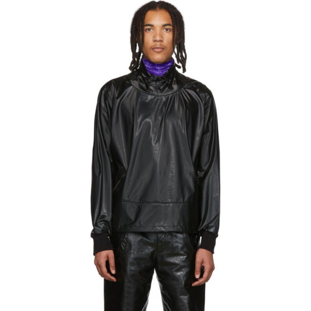 サンクアンズ Sankuanz メンズ ジャケット アウター【Black Pullover Jacket】Black