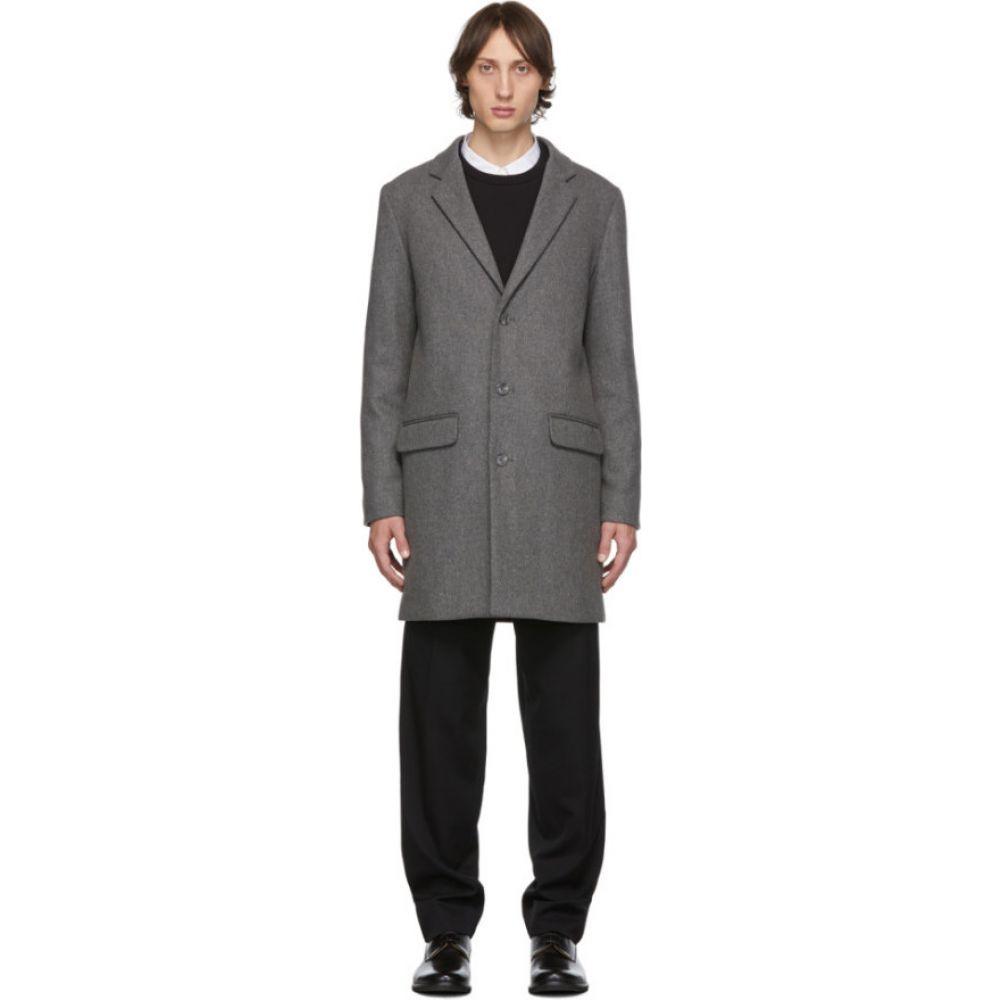 アーペーセー A.P.C. メンズ コート アウター【Grey Visconti Coat】Gris chine