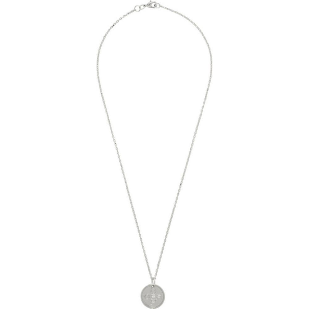 オフホワイト Off-White メンズ ネックレス ジュエリー・アクセサリー【Silver Small Logo Cross Necklace】