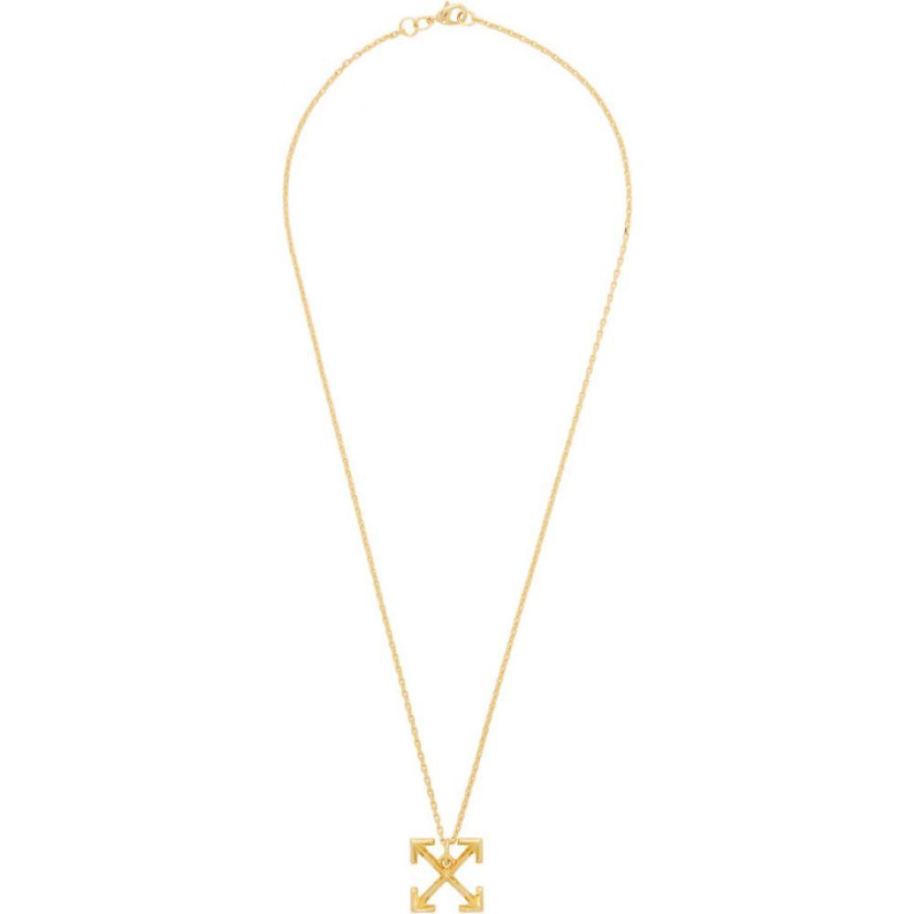 オフホワイト Off-White メンズ ネックレス ジュエリー・アクセサリー【Gold Small Arrows Necklace】