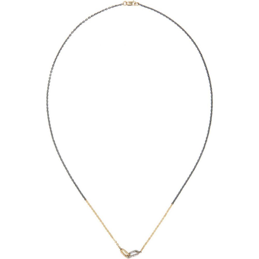 パールズ ビフォア スワイン Pearls Before Swine メンズ ネックレス ジュエリー・アクセサリー【Silver & Gold Two-Tone Link & Chain Necklace】k yellow