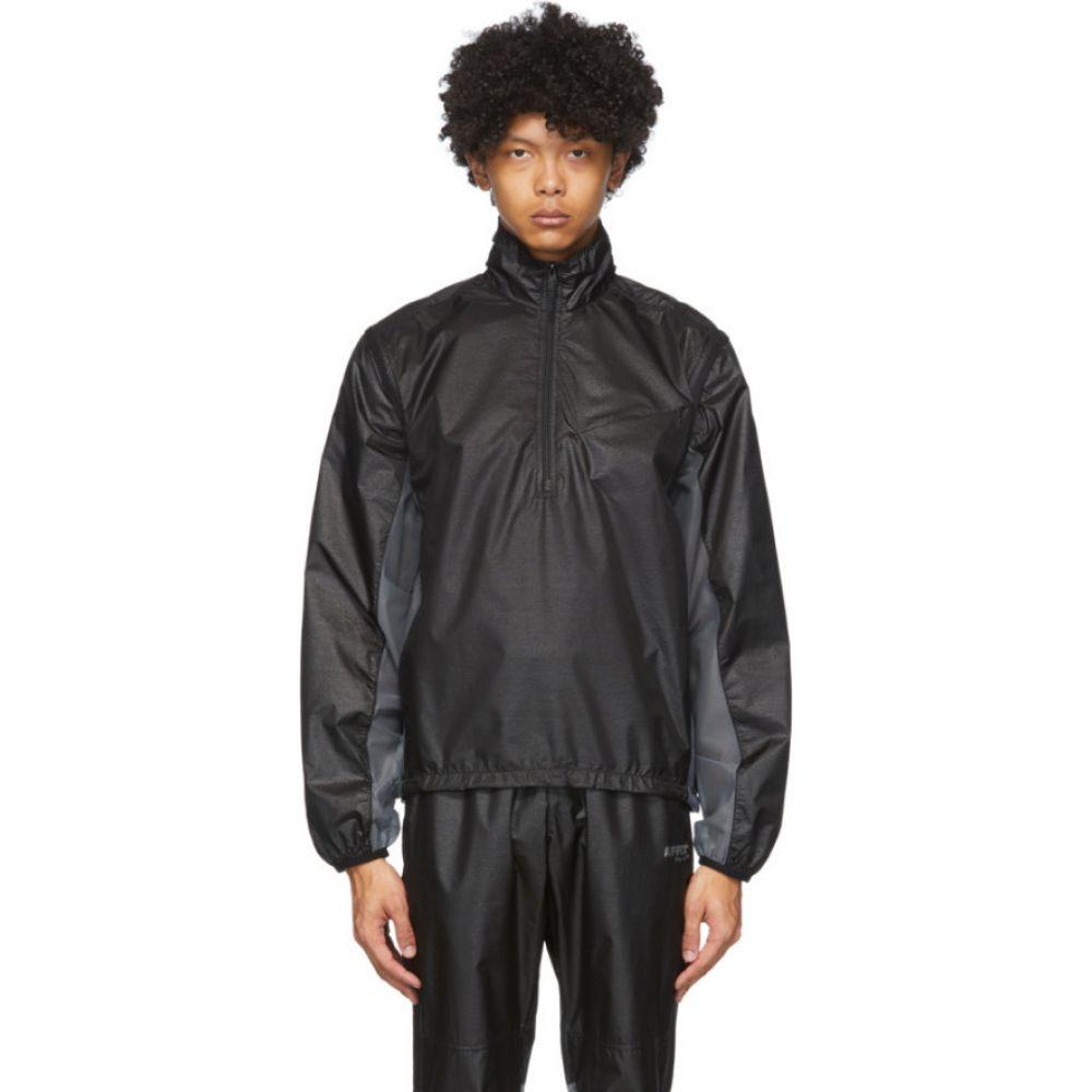 アフィクス Affix メンズ ジャケット アウター【Black Convertible Technical Jacket】Black