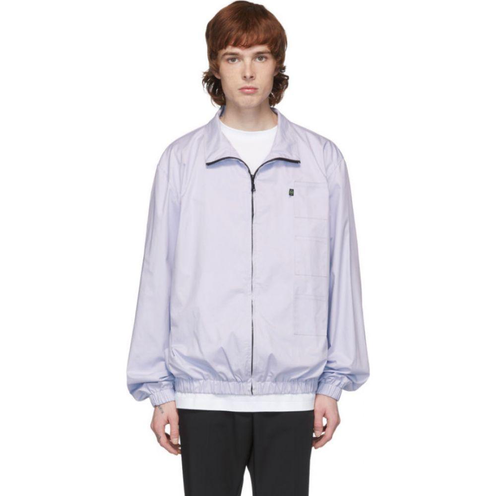 ザンダー ゾウ Xander Zhou メンズ ジャケット アウター【Blue 3 Patch Jacket】Pastel blue