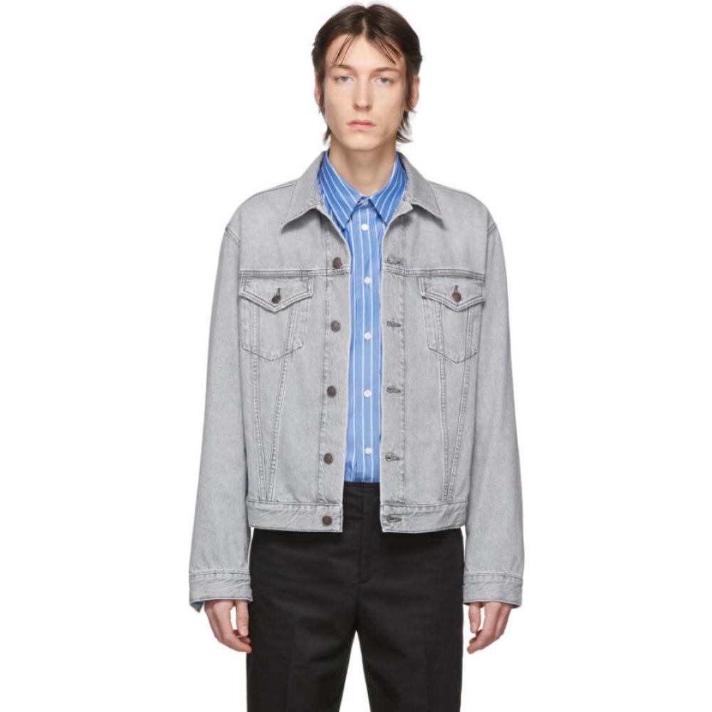 アクネ ストゥディオズ Acne Studios メンズ ジャケット Gジャン アウター【Grey Denim 1998 Jacket】Stone grey