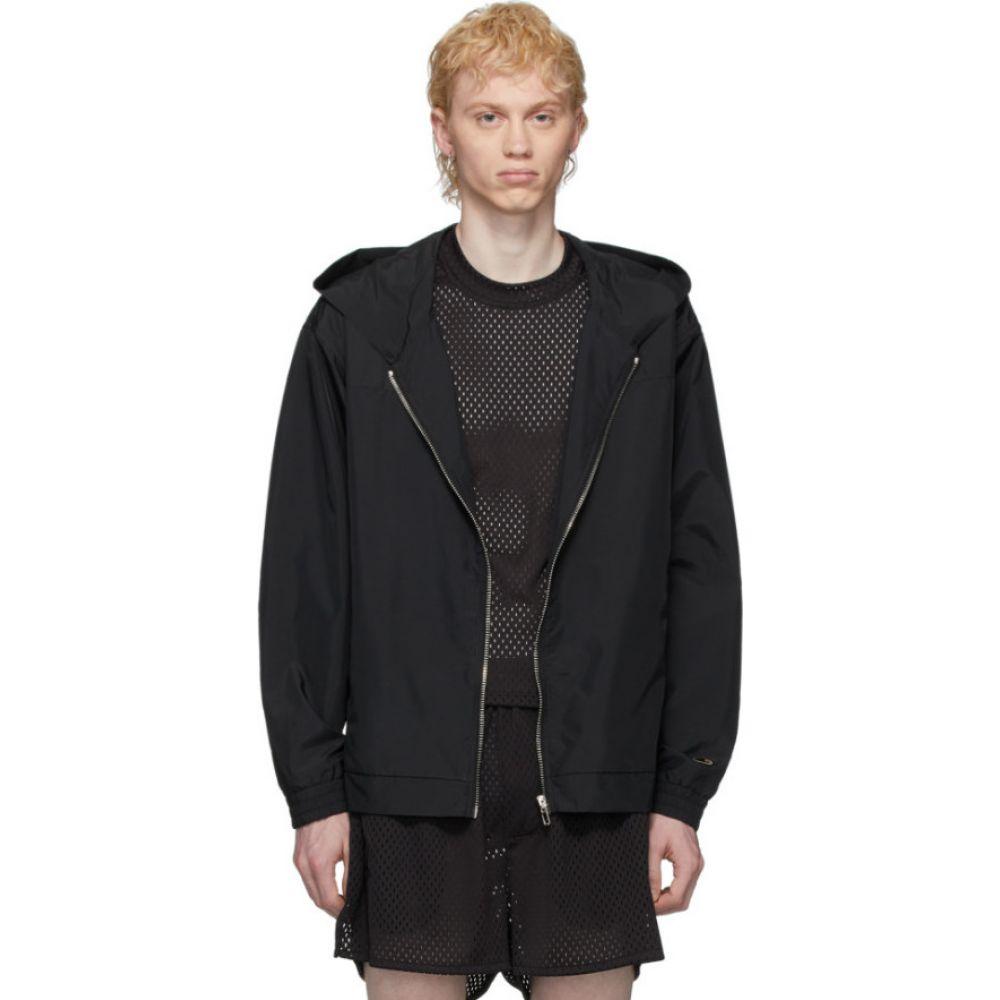 リック オウエンス Rick Owens メンズ ジャケット フード アウター【Black Champion Edition Hooded Jacket】Black