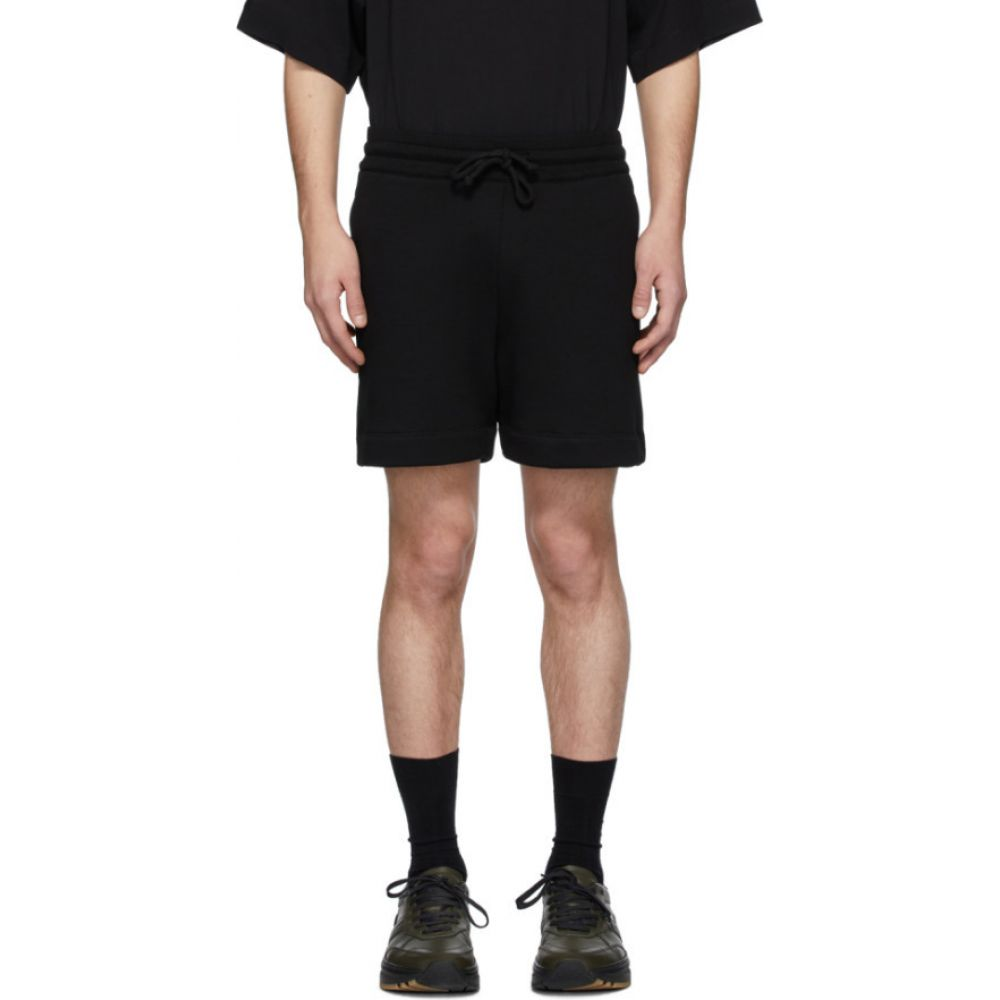 ドリス ヴァン ノッテン Dries Van Noten メンズ ショートパンツ ボトムス・パンツ【Black French Terry Lounge Shorts】Black