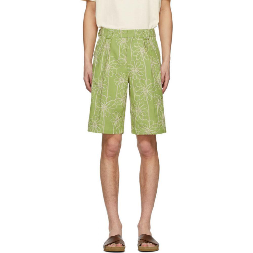 ジャックムス Jacquemus メンズ ショートパンツ ボトムス・パンツ【Green 'Le Short De Costume' Shorts】Light green
