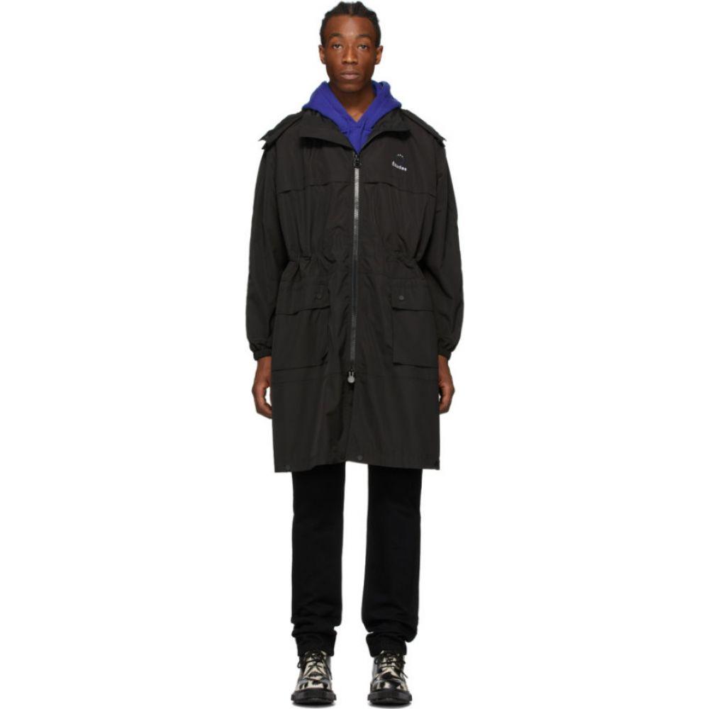 エチュード Etudes メンズ コート アウター【Black Air Full Coat】Black
