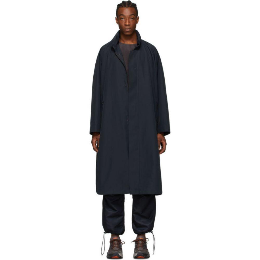 イッセイ ミヤケ Homme Plisse Issey Miyake メンズ コート アウター【Black Light Coat】Black
