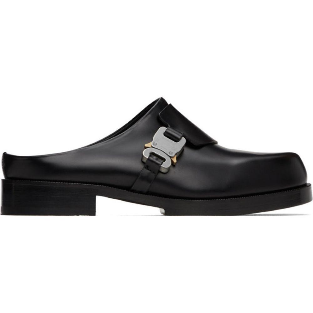 アリクス 1017 ALYX 9SM メンズ ローファー シューズ・靴【Black Formal Clog Loafers】Black