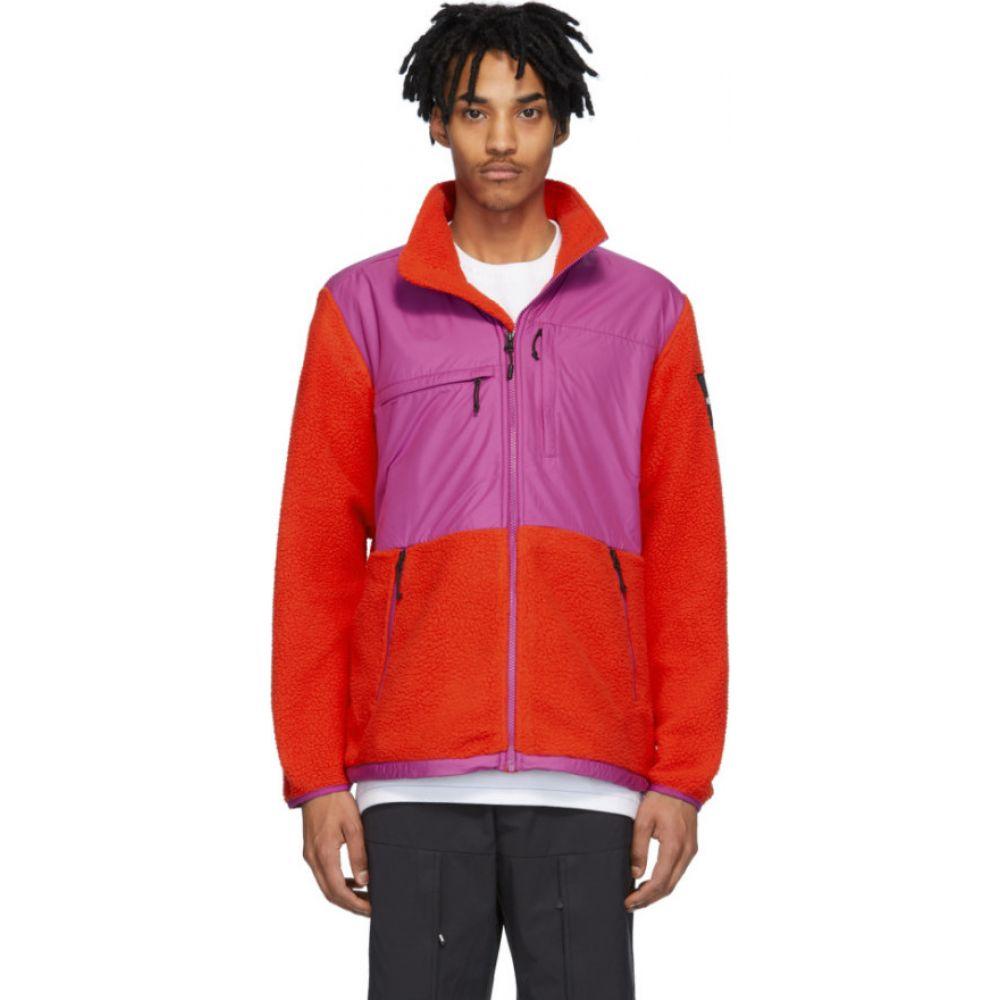 ザ ノースフェイス The North Face メンズ フリース トップス【Red & Purple Fleece Denali Jacket】Fiery red/Wild aster purple