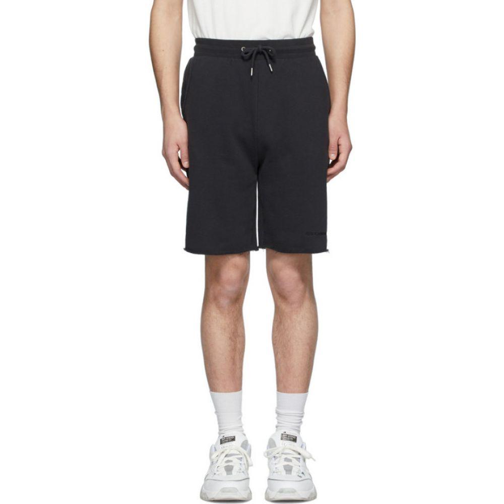 ハン コペンハーゲン Han Kjobenhavn メンズ ショートパンツ ボトムス・パンツ【Black Sweat Shorts】Faded black