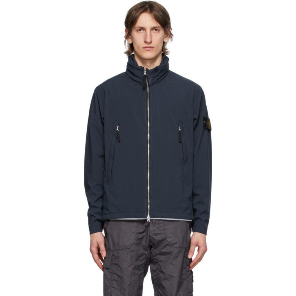ストーンアイランド Stone Island メンズ ジャケット アウター【Blue Short Jacket】Blue marine