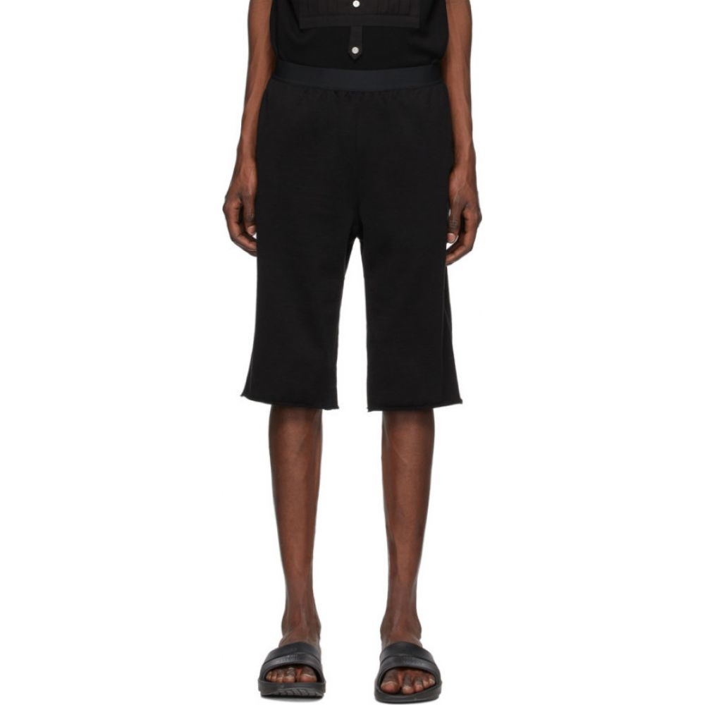 タカヒロミヤシタザソロイスト TAKAHIROMIYASHITA TheSoloist. メンズ ショートパンツ ボトムス・パンツ【Black Jogger Shorts】Black