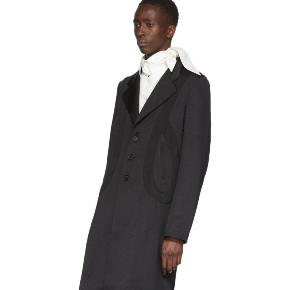 キコ コスタディノフ Kiko Kostadinov メンズ スーツ・ジャケット アウター Black Lasso Long Blazer Coat Oil blackl3JTcFK1