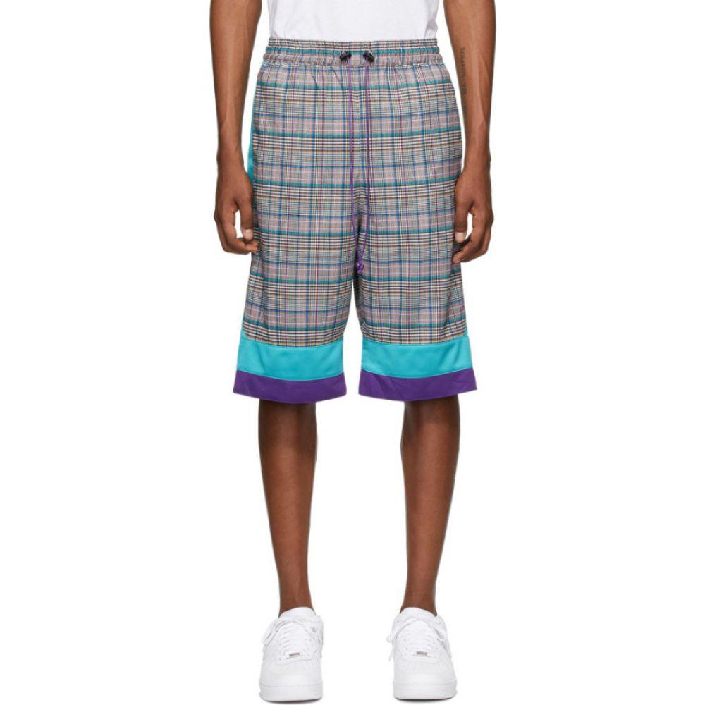 ランドロード Landlord メンズ バスケットボール ショートパンツ ボトムス・パンツ【Multicolor Plaid Basketball Shorts】Plaid