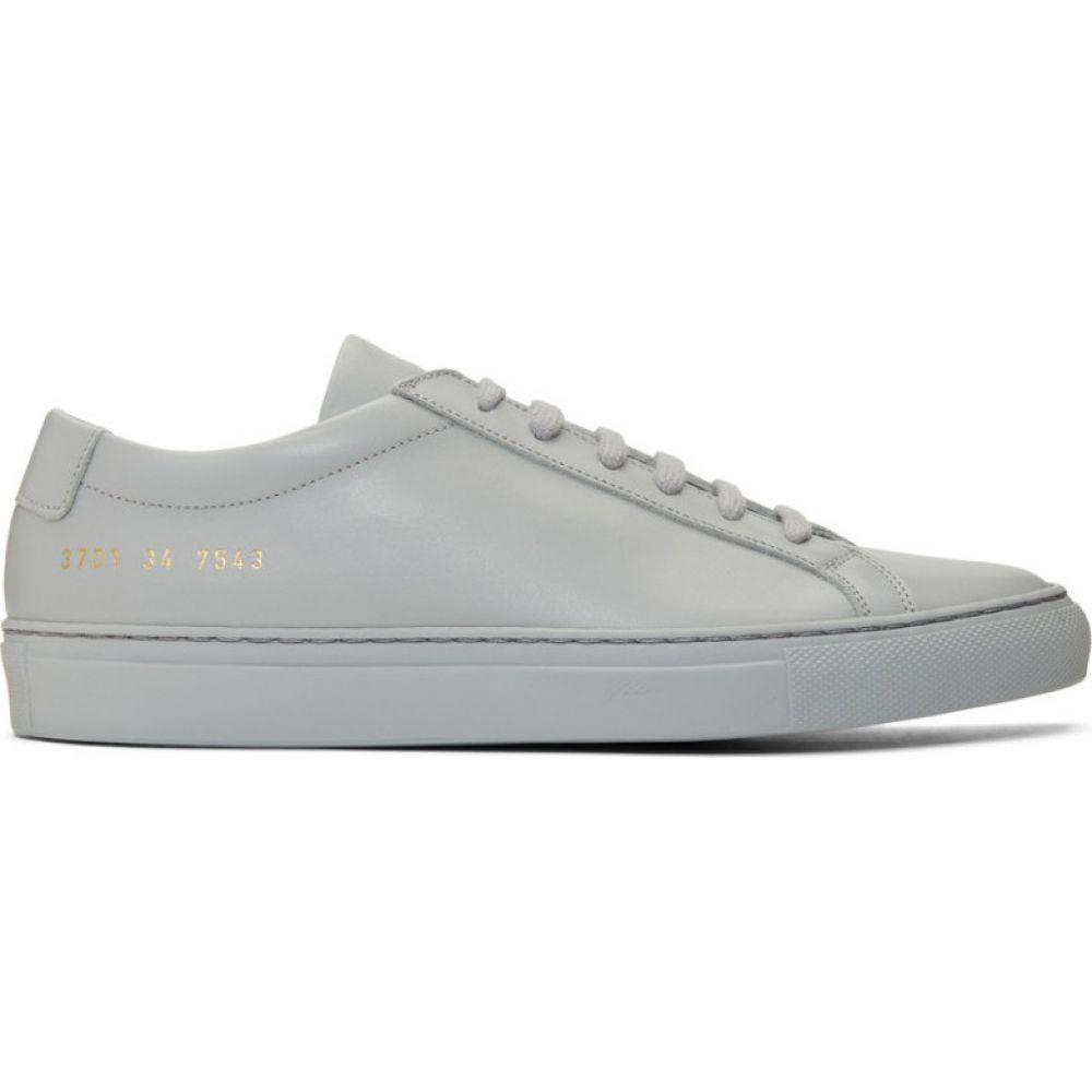 コモン プロジェクト Common Projects レディース スニーカー シューズ・靴【Grey Original Achilles Low Sneakers】