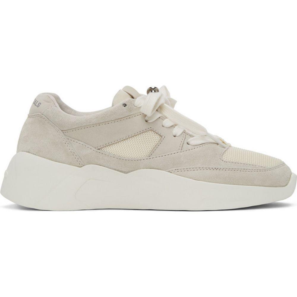 エッセンシャルズ Essentials レディース スニーカー シューズ・靴【Off-White Distance Sneakers】Cream