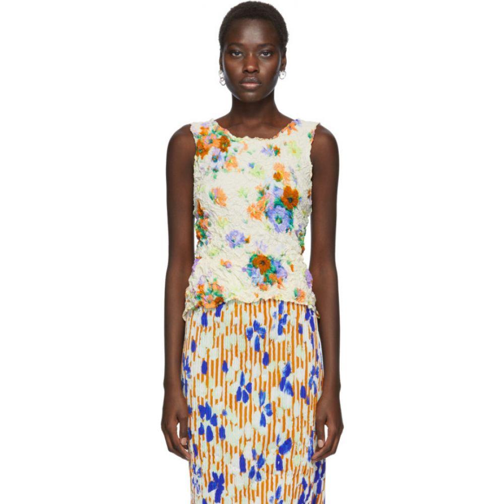 ユリア ホイアー Julia Heuer レディース トップス 【Off-White & Multicolor Gran Print Tommy Top】Color