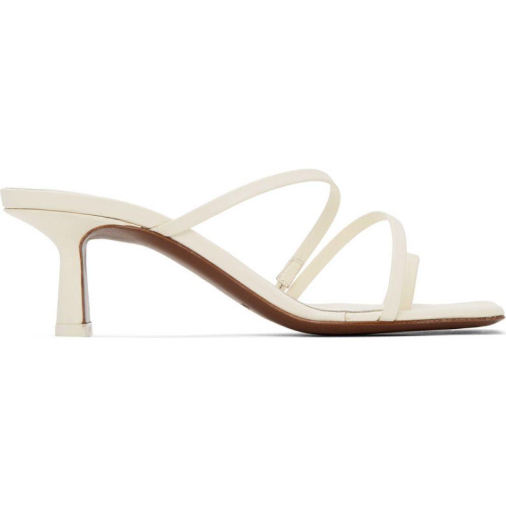 ネオアス NEOUS レディース サンダル・ミュール シューズ・靴【Off-White Erandra 55MM Heeled Sandals】Cream