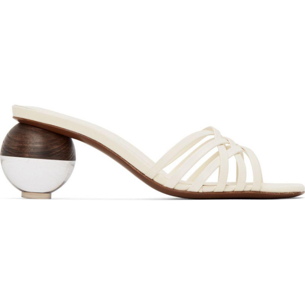 ネオアス NEOUS レディース サンダル・ミュール シューズ・靴【Off-White Calpa 55 Heeled Sandals】Cream