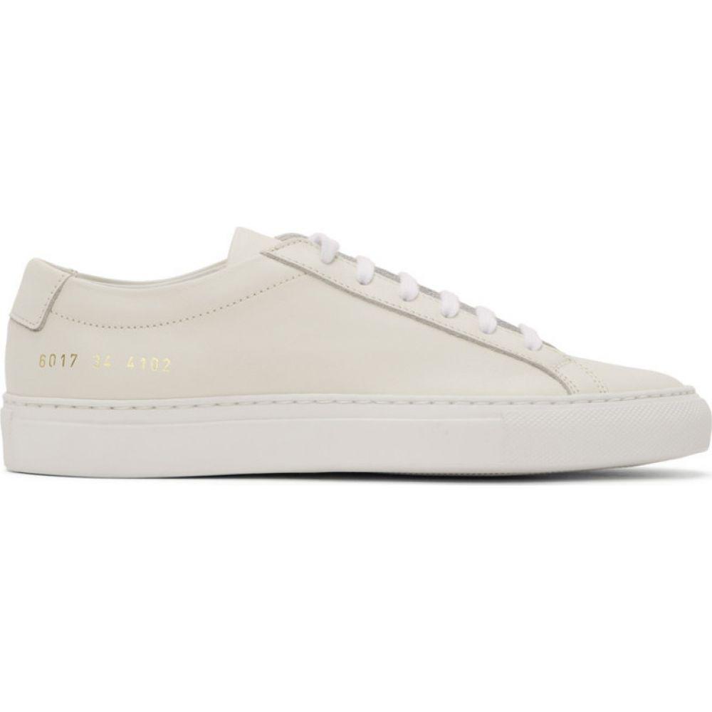 コモン プロジェクト Common Projects レディース スニーカー シューズ・靴【Off-White Original Achilles Low Sneakers】Off-white