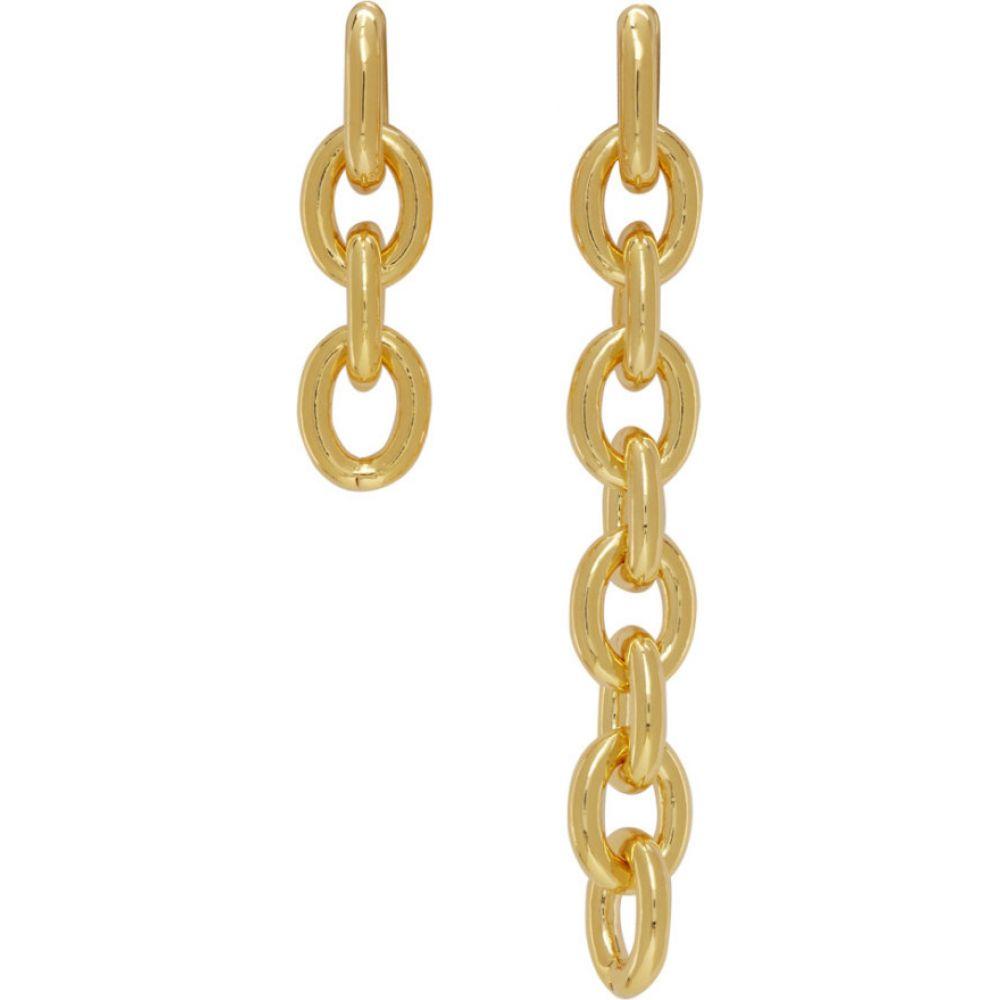 ナンバリング Numbering レディース イヤリング・ピアス ジュエリー・アクセサリー【Gold #842 Asymmetric Chain Earrings】Gold