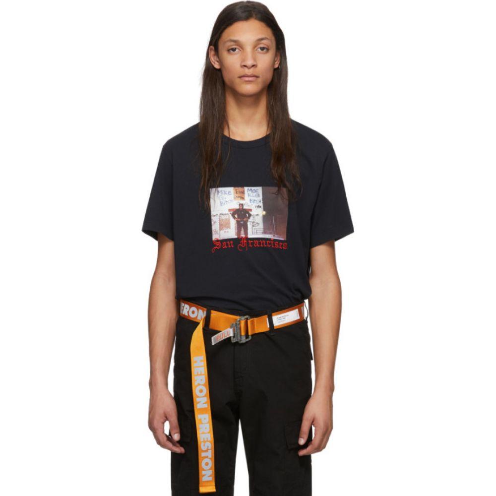 ヘロン プレストン Heron Preston メンズ Tシャツ トップス【Black Heron Dad T-Shirt】Black/Multicolor