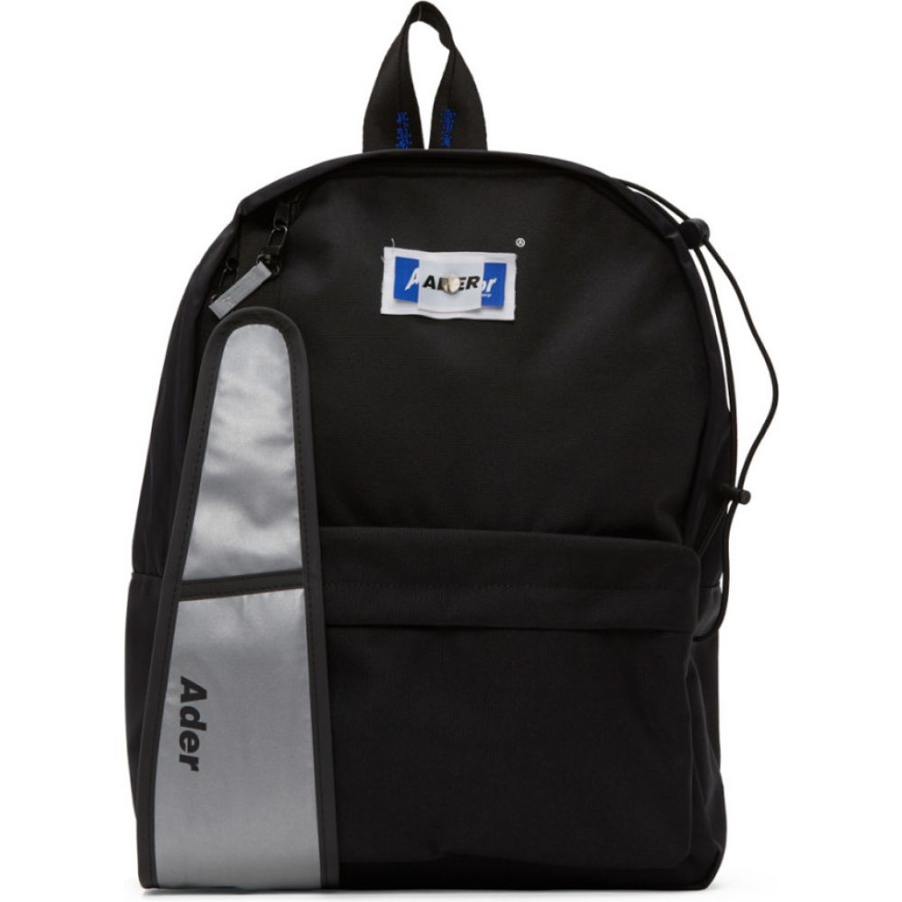 アーダーエラー ADER error メンズ バックパック・リュック バッグ【Black Rivet Label 2Way Backpack】Black