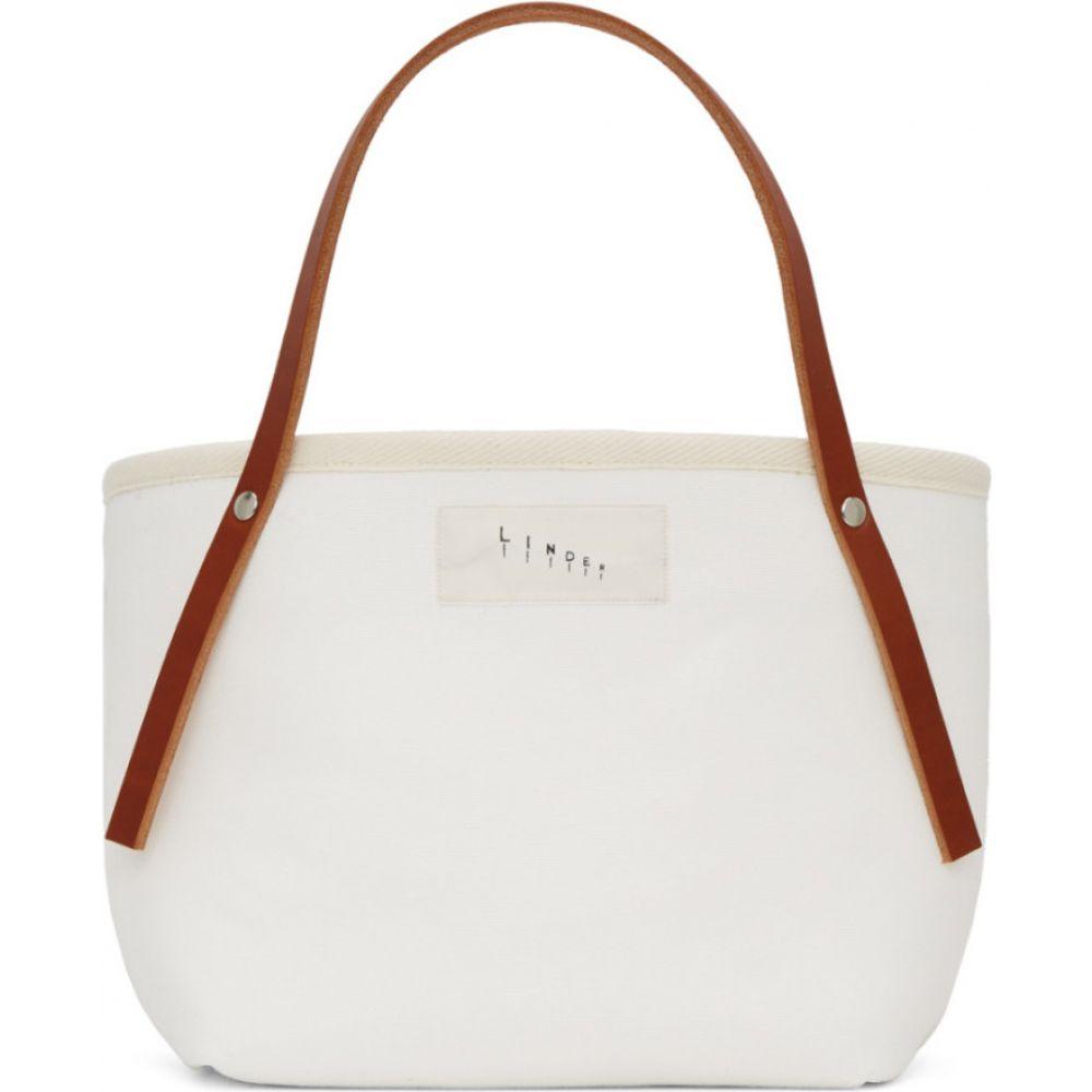 リンダー Linder メンズ トートバッグ バッグ【White Astor Bag】Natural/Brown