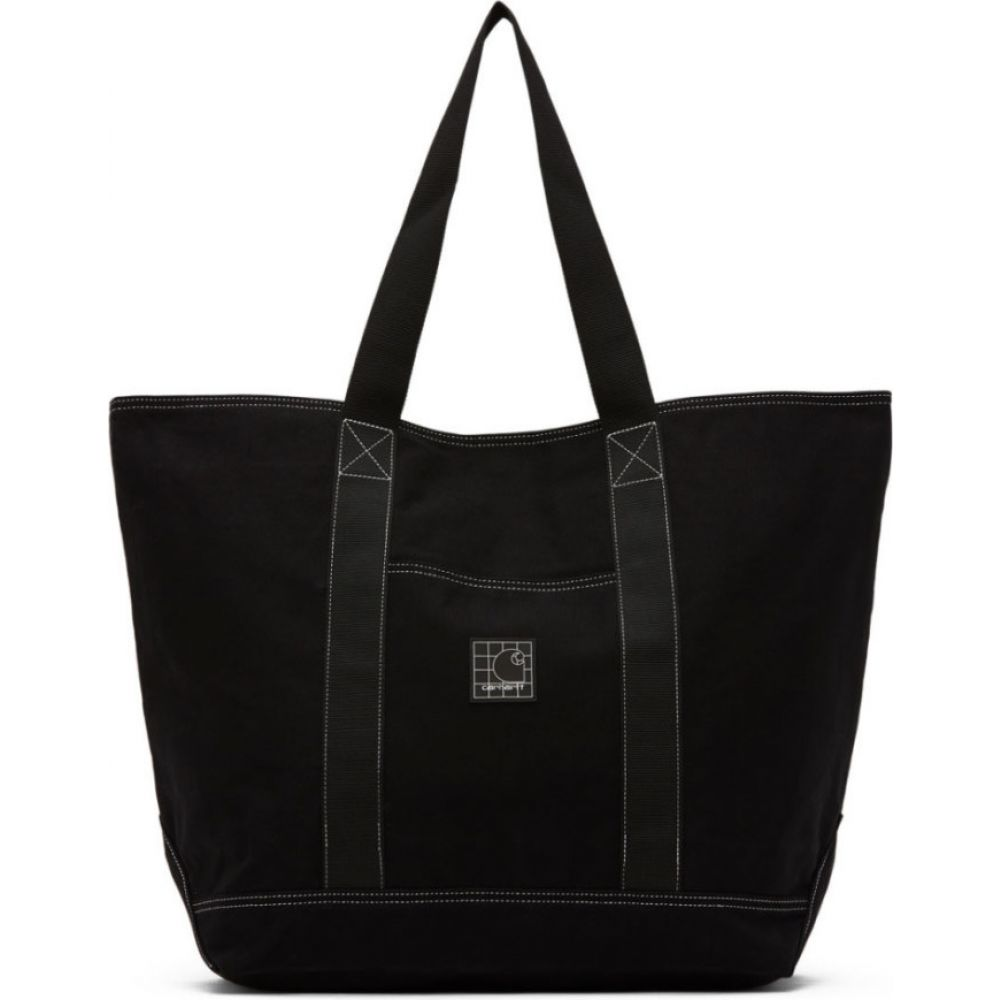 カーハート Carhartt Work In Progress メンズ トートバッグ バッグ【Black Stratford Tote】Black/White