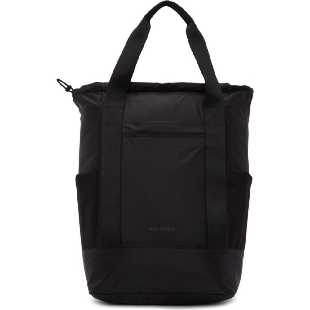 ノースプロジェクト Norse Projects メンズ バックパック・リュック バッグ【Black Hybrid Backpack】Black