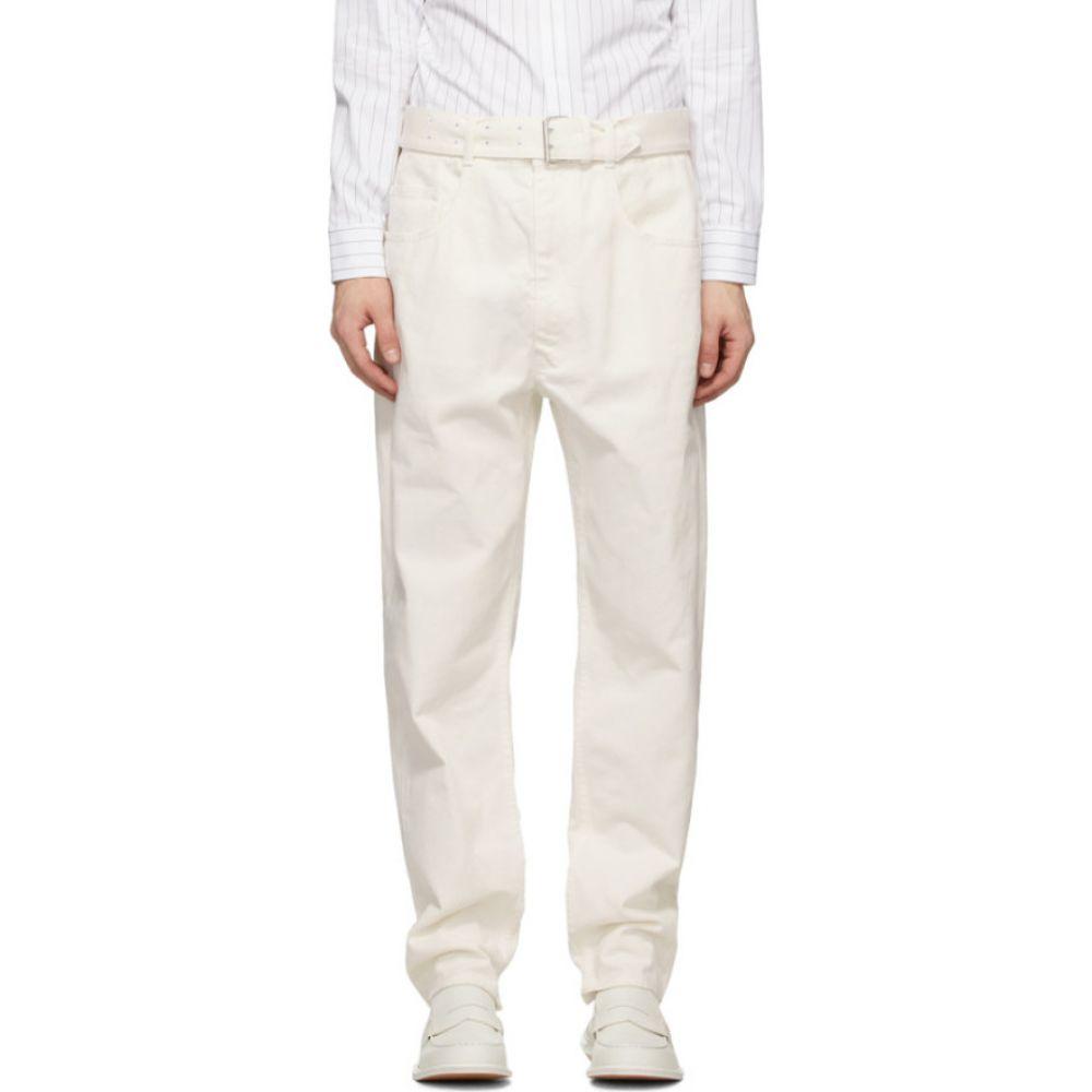 メゾン マルジェラ Maison Margiela メンズ ジーンズ・デニム ボトムス・パンツ【White Belted Jeans】White