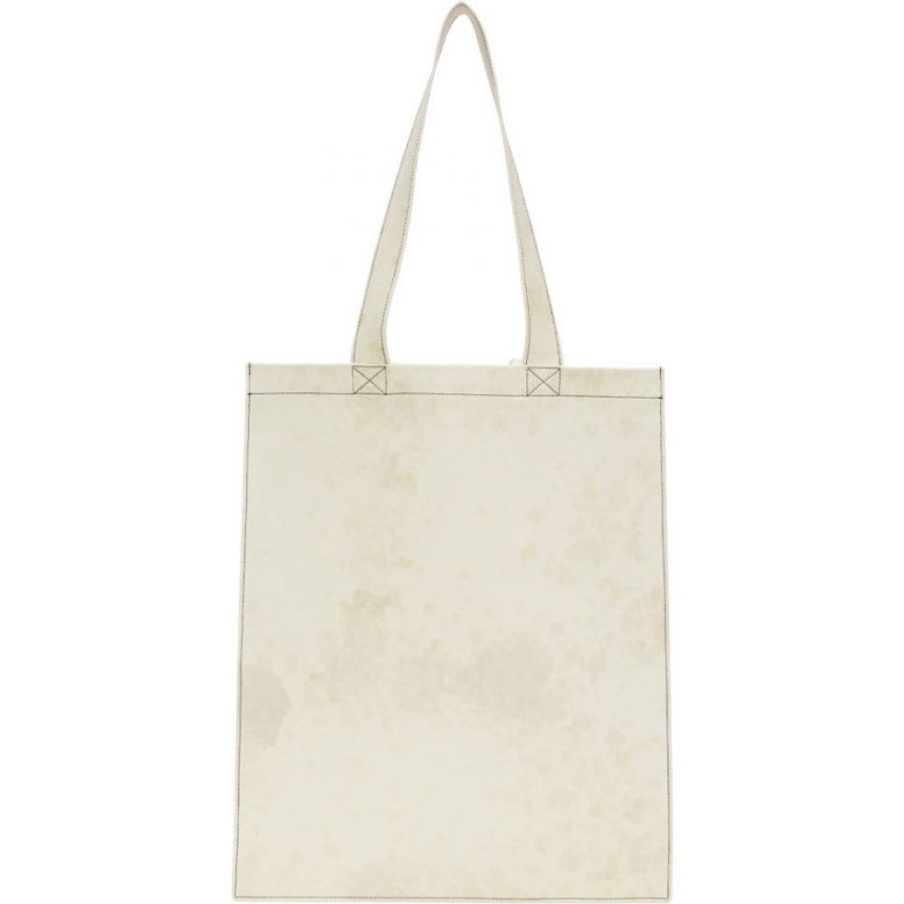 リック オウエンス Rick Owens メンズ トートバッグ バッグ【White Leather Tote】White