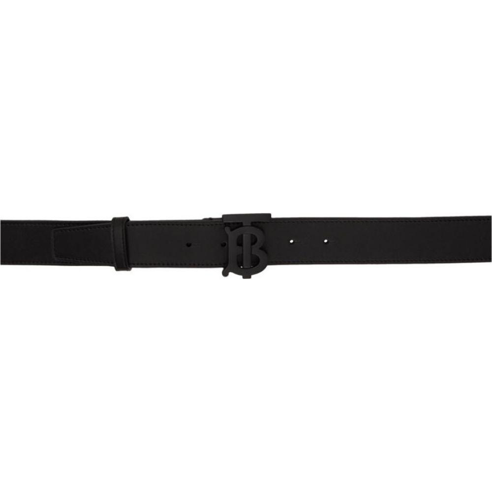 バーバリー Burberry メンズ ベルト 【Black Monogram Belt】Black