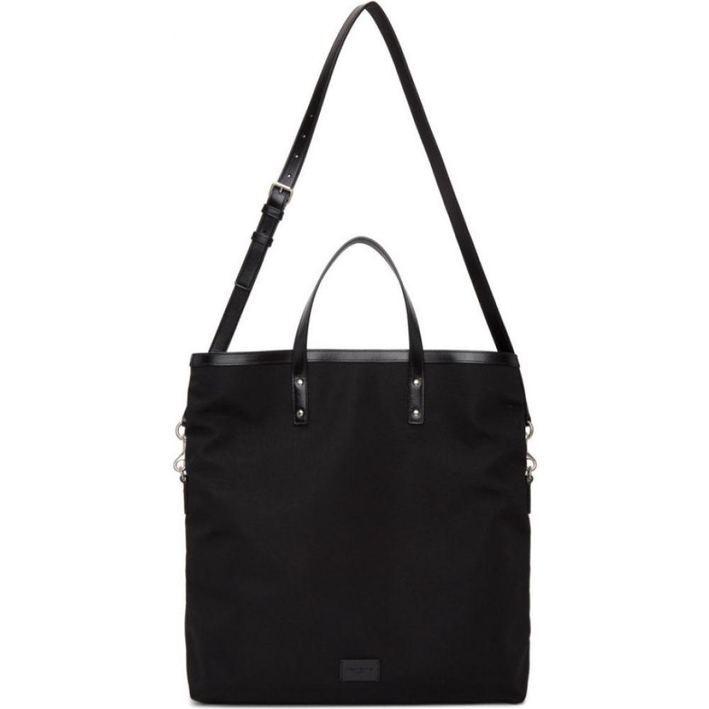 イヴ サンローラン Saint Laurent メンズ トートバッグ キャンバストート バッグ【Black Canvas Foldable Ethan Shopping Tote】Black