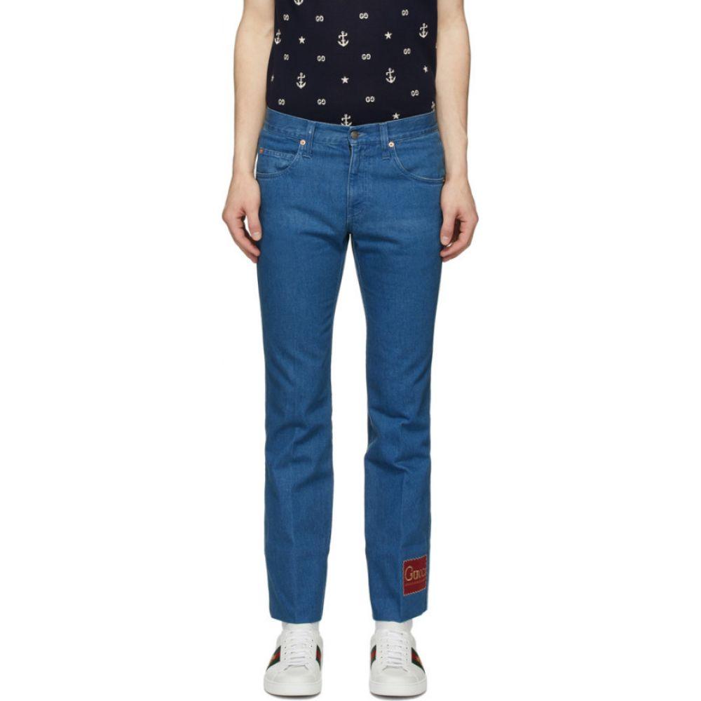グッチ Gucci メンズ ジーンズ・デニム ボトムス・パンツ【Blue Label Jeans】Blue mix