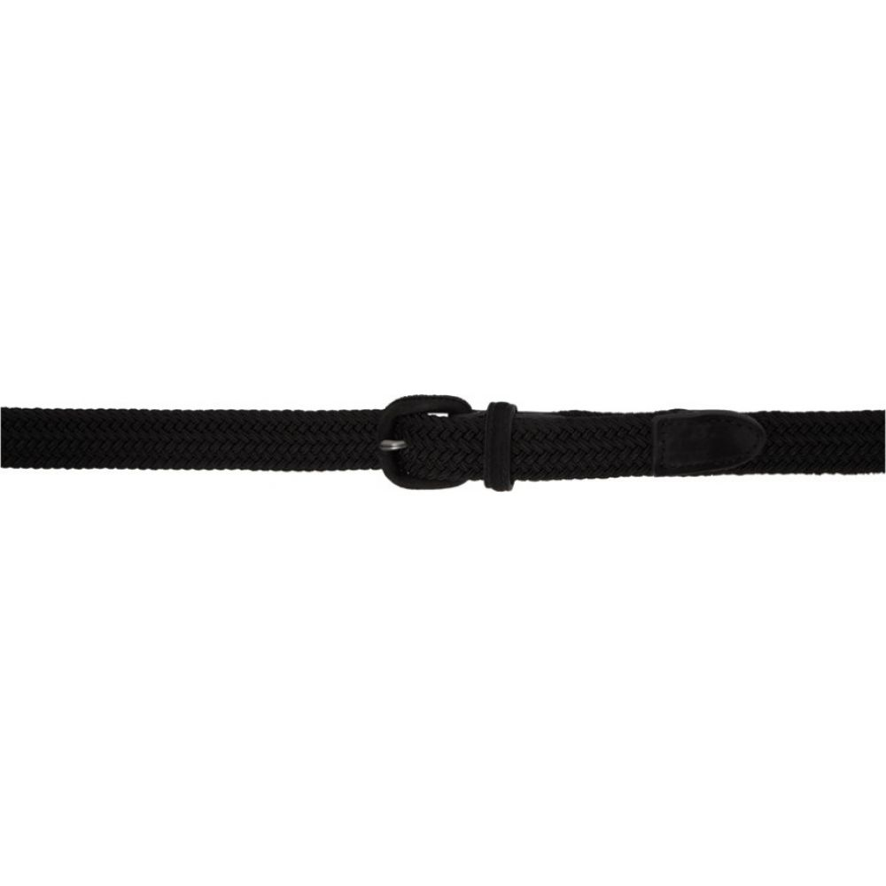 イッセイ ミヤケ Issey Miyake Men メンズ ベルト 【Black Kurumi Belt】Black