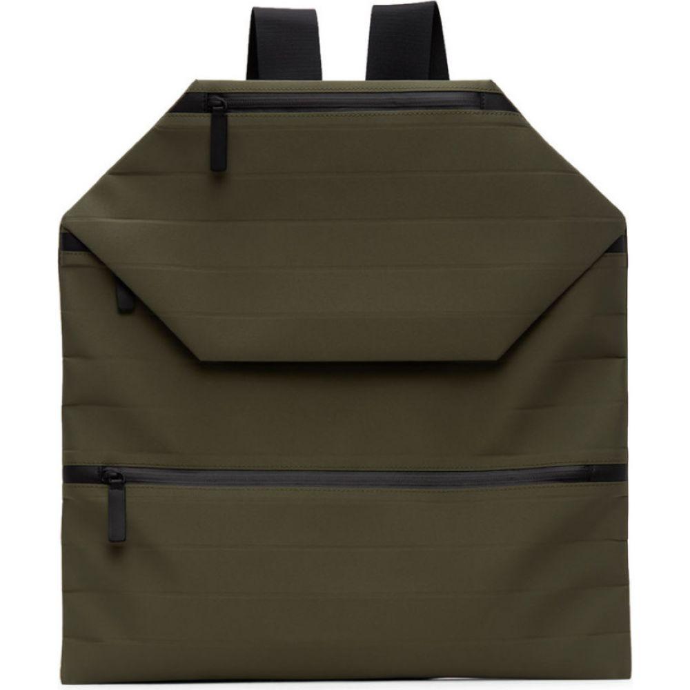 イッセイ ミヤケ Issey Miyake Men メンズ バックパック・リュック バッグ【Khaki Galette Backpack】Khaki